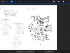 Create EASY Lettering Layouts - Grid Builder Review - Lettering Daily