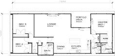 PLB125 3 Bedroom Transportable Homes House Plan