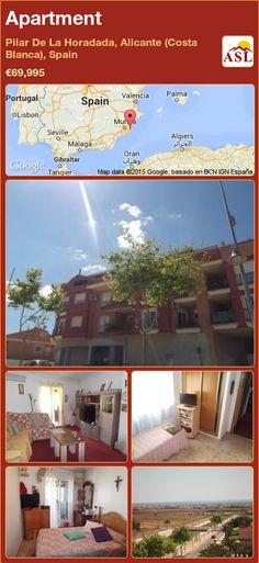 Apartment for Sale in Pilar De La Horadada, Alicante (Costa Blanca), Spain with 2 bedrooms, 1 bathroom - A Spanish Life Apartments For Sale, Alicante, Valencia, Portugal, Fitted Wardrobes, Penthouse Apartment, Best Flats, Murcia, Palmas