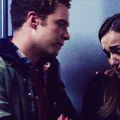 Fitz & Simmons. I lost it at this part when she started to cry.