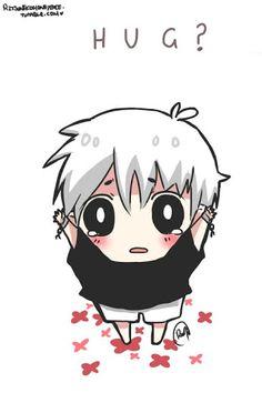 Yes I'll give you a huge hug Kaneki(๑>◡<๑)