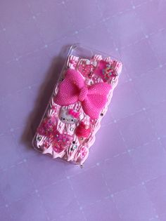 Pink Cream Frosted iPhone 5 Deco Den Case, Decp Dem Silicone Faux Frosting iPhone 5 Phone Case, Fairy Keii Deco Phone Case  on Etsy, $24.00