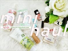 MINI BEAUTY HAUL 2018 : http://www.petitediaries.com/2018/02/what-i-bought-for-february-2018-beauty.html #BEAUTYBLOGGER #catrice #marksspencer #catrice #canmake #benefitcosmetics #cosmetic #thesaem #koreanbeauty #cosmetic