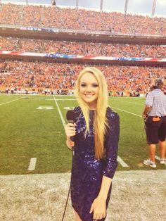 Danielle Bradbery #NFLkickoff