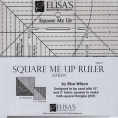 Square Me Up Ruler