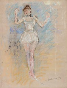 Danseuse de corde | (Women) Artists2021 | Sotheby's Post Impressionism, Impressionist Art, Julie Manet, Berthe Morisot, Online Images, Art History, Im Not Perfect, Illustration, Artwork