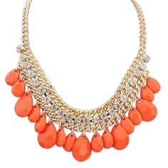 Janet Glam Bead Necklace