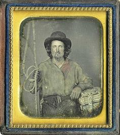 Teamster from  Texas  circa 1860s