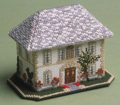 image of The Chateau 3D Cross Stitch Kit