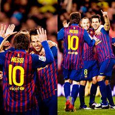 #Messi, #Cesc, #Barca, FC Barcelona, Inesta, Visca Barca.