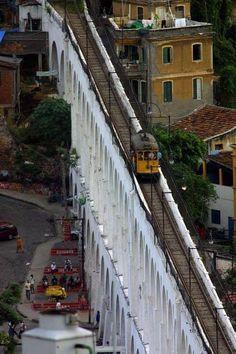 Aquedutos da Lapa, Rio de Janeiro -Brasil.                              …