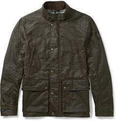 Belstaff Tourmaster Waxed-Cotton Jacket Best Boots For Men, Belstaff Jackets, Cafe Racer Jacket, Waxed Cotton Jacket, Hooded Raincoat, Field Jacket, Vintage Outfits, Bomber Jacket, Menswear