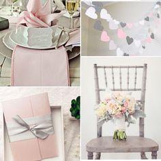 affordable silver ribbon blush pink pocket spring flower wedding invitation EWPI146