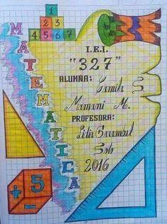 Manos creativas maravillosas Frame Border Design, Page Borders Design, Doodle Borders, Borders For Paper, File Decoration Ideas, Front Page Design, Bullet Journal Cover Ideas, Notebook Art, School Notebooks