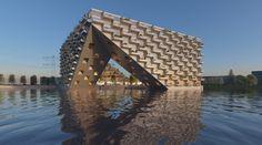 Galeria de BIG e BARCODE vencem concurso para Habitação em Amsterdam - 2