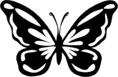 Butterfly Stencils | Butterfly Stencil Images