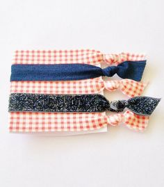 5 Hair Ties Summer Picnic by Lucky Girl by LuckyGirlHairTies, $5.95