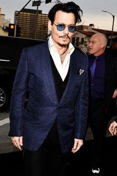 Johnny Depp at the Transcendence premiere in LA , April 10 2014.