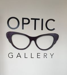 3 foot butterfly cateye wall art can make your frame Gallery signage stand out. #shopping #fashion #glasses #design #funtionalart