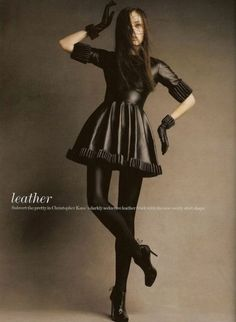 Designer Leather Fashions