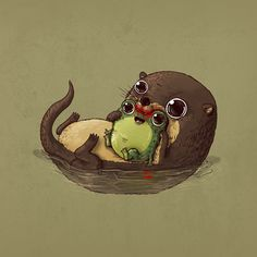 животные с добычей cute: 15 тыс изображений найдено в Яндекс.Картинках