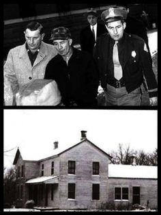 THE REAL TEXAS CHAINSAW MASSACRE: When Police searched Ed Gein's property, they found Bernice's decapitated body hung upside down in his shed, dressed like a deer, and shot with a 22 Calibre Riffle, then mutilated. After searching the farmhouse, they found garments crafted from human skin, like waistcoat, and belt made out of nipples, he also had a flayed torso with slits up either side. Edward said he used to prance around, draped with the face, hair, breasts etc. of his human trophies.
