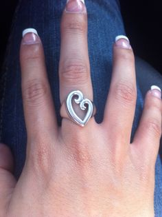 The must have Mother's Love ring from James Avery for $69.00 (matching with my mom).