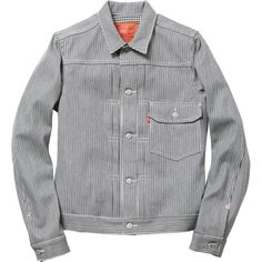 Supreme/Levis® Type 1 Jacket in Hickory Stripe