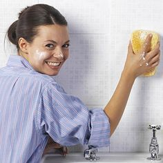 Spring Cleaning - Cleaning Grout