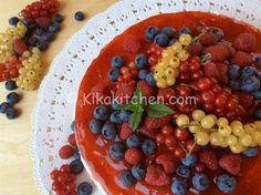 Cheesecake ai frutti di bosco senza cottura   Kikakitchen