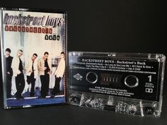 All used cassettes are tested for sound quality before being shipped. If you are not fully satisfied with the quality of the tape you may return it within 30 days for a full refund. Backstreet Boys Lyrics, Backstreet's Back, 90s Girl, Thats The Way, My Childhood Memories, Album Covers, Boy Bands, Fan Art, Children