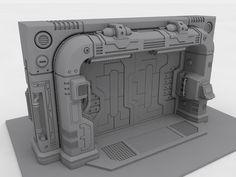 sci fi hatch - Google Search
