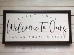 room decor Wood entry ways - Welcome Home Wood Distressed Sign Modern Farmhouse Decor, Farmhouse Signs, Texas Farmhouse, Rustic Decor, Front Hall Decor, Custom Wood Signs, Vintage Wood Signs, Country Wood Signs, Welcome Home Signs