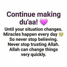 True for readily every dua is accepted but in due time for Allah SWT) knows what its our heart his mercy is boundless Allah Quotes, Muslim Quotes, Quran Quotes, Religious Quotes, Quotes About Allah, Islam Hadith, Allah Islam, Alhamdulillah, Duaa Islam