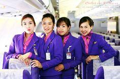 Thai airways stewardess #CabinCrew #BestCrew #hospitality #ThaiAirways #Stewardess