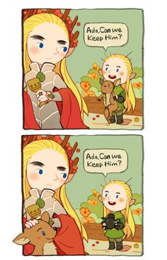 Tales of Mirkwood - Can we keep him ? (1)  by r-navy