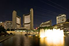 Nathan Phillips Toronto's City hall ~love it! Visit Toronto, Toronto City, Toronto Canada, Canada Ontario, Downtown Toronto, Toronto Architecture, Plumbing Emergency, Greater Toronto Area, Places To Go