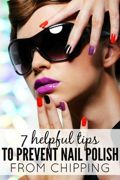 One of my favorite parts of summer is trying all of those bright, fun nail polishes that call my name every time I visit our local drug store, even though I have a knack for chipping my polish almost as soon as it dries. But thanks to these 7 helpful tips to prevent nail polish from chipping, I can finally clean dishes, scrub the toilets, and perform other kinds of manual labor without ruining my look!