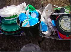 Once a month garbage collection: Simple tips low cost #green living