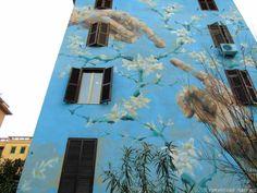 Street art nella periferia di Roma: I palazzi colorati di Tor Marancia