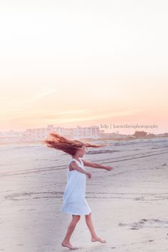 Beach Portraits in Wildwood Crest, NJ.  The world of a dancer captured during sunset.  Dancing photos bring such beautiful photos.