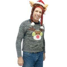 dj-reindeer-tacky-ugly-christmas-sweater