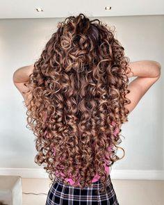Curls For Long Hair, Curly Hair Tips, Curly Hair Care, Long Curly Hair, Curly Hair Styles, Permed Hairstyles, Pretty Hairstyles, Love Hair, Gorgeous Hair