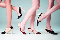 Elegnano high en low heels made in Italy for autumn and winter - Photo by Maarten Mellemans