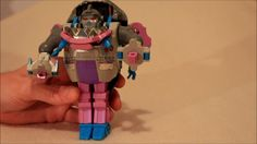 Transformers Vintage G1 Sharkticon Gnaw - GotBot True Review NUMBER 198
