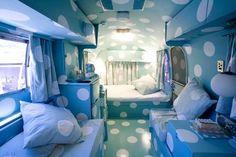 Airstream cloud bedroom