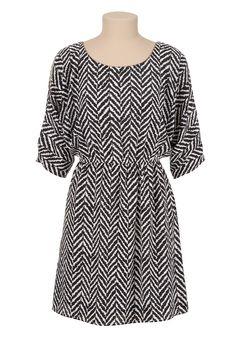 Cold Shoulder Gathered Waist Dress