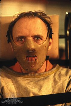 """Anthony Hopkins in """"The Silence of the Lambs"""" (1991)"""