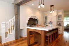 Rustic Kitchen - victorian - Kitchen - New York Kitchen New York, Old Kitchen, Rustic Kitchen, Kitchen Ideas, Kitchen Photos, Kitchen Layout, Kitchen Designs, Stairs In Kitchen, Ikea