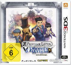 professor layton video games | Professor Layton vs. Phoenix Wright: Ace Attorney